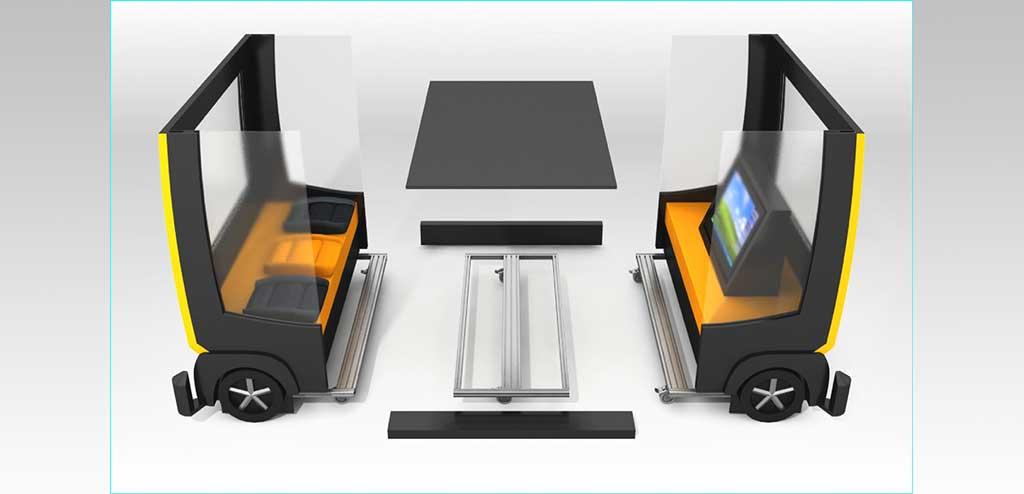beispiel display begehbar mit audiovisueller produktprsentation und vorgegebenem packma umsetzung konzeption gestaltung detailplanung - Produktprasentation Beispiel
